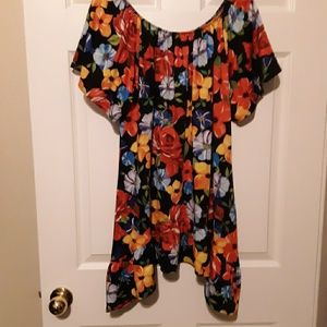 Slinky Brand floral tunic
